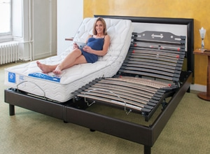 ensemble lectrique matelas sommier composer son lit. Black Bedroom Furniture Sets. Home Design Ideas